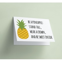 Gents Design: be a pineapple