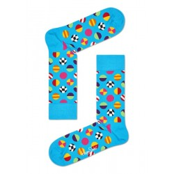 Happy socks: clashing dot...