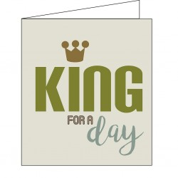 Mailbox: king for a day...