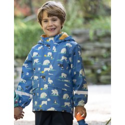 Frugi: winterjas polar play